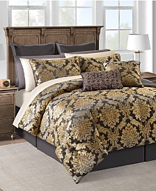 CLOSEOUT! Carrington 20-Pc. Gold Queen Comforter Set