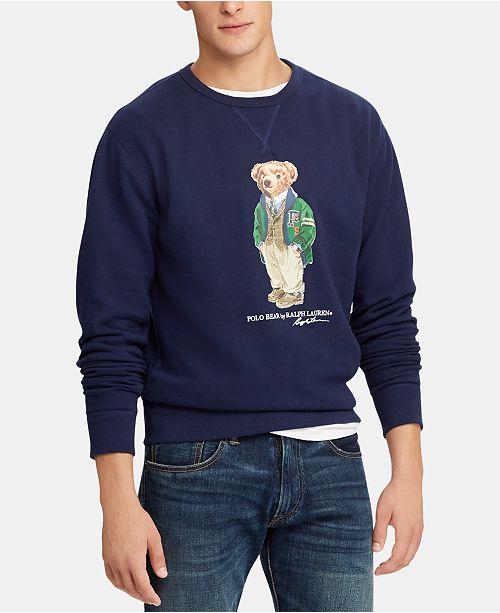 e487a4047 ... Polo Ralph Lauren Men s Polo Bear Fleece Sweatshirt