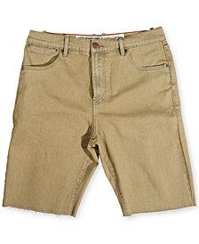 LRG Men's Big and Tall Surrender Denim Shorts