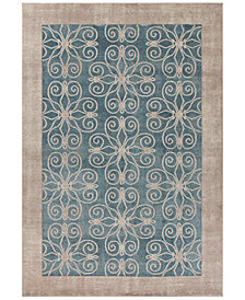 "Libby Langdon Winston Looking Glass 6'6"" Round Area Rug"