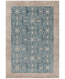"""Libby Langdon Winston Looking Glass 2'2"""" x 7'6"""" Runner Area Rug"""