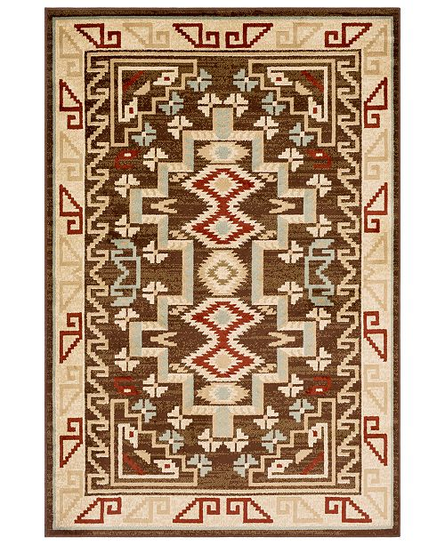 Surya Paramount PAR-1079 Dark Brown 2' x 3' Area Rug