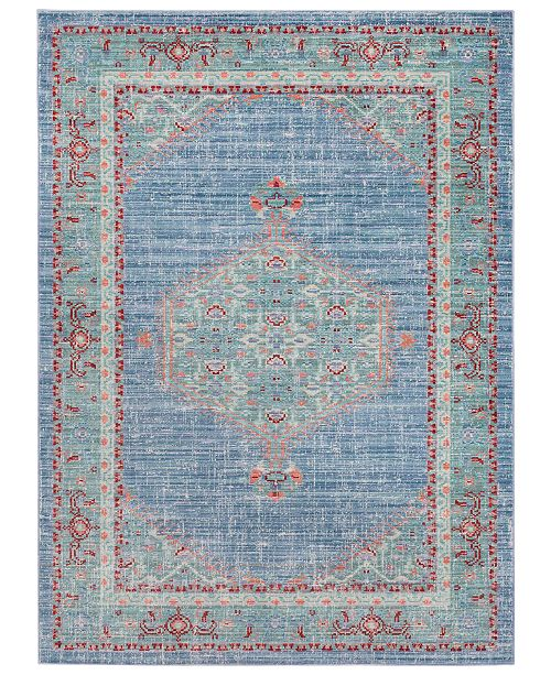 """Surya Germili GER-2311 Bright Blue 3'11"""" x 5'7"""" Area Rug"""