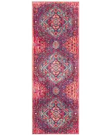 "Surya Germili GER-2325 Bright Pink 2'11"" x 7'10"" Runner Area Rug"