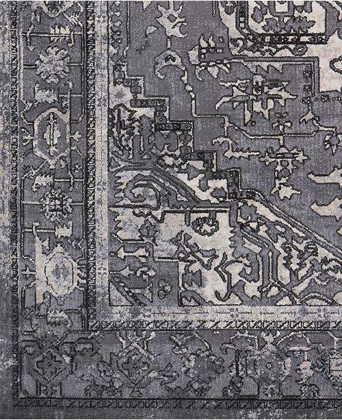 "Surya Tibetan TBT-2303 Taupe 18"" Square Swatch"
