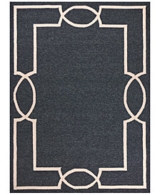Libby Langdon Hamptons Madison 7' Indoor/Outdoor Round Area Rug