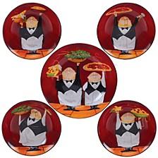 Waiters 5-Pc. Pasta Sets