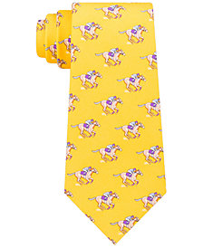 Tommy Hilfiger Men's Derby Classic Printed Silk Twill Tie