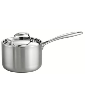 Stainless Steel Saucepan with Lid,Sauce Pot Pan Mike Pan 1.5 Quart