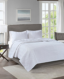 510 Design Lucca King or California King 3-Piece Embossed Coverlet Set