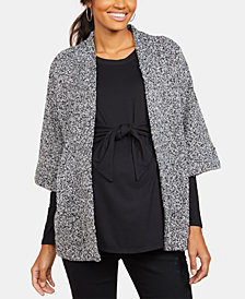 Motherhood Maternity 3/4-Sleeve Jacket