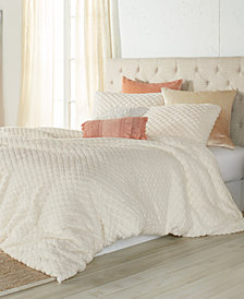 Peri Diamond Sherpa Full/Queen Comforter Set