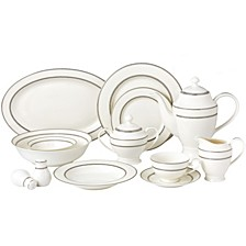 Arianna 57-PC Dinnerware Set, Service for 8