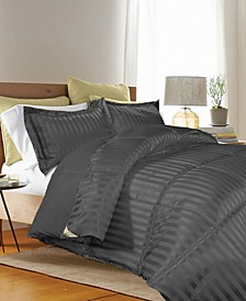 3 Piece Reversible Down Alternative King Comforter Set