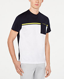 Calvin Klein Men's Colorblocked Pocket T-Shirt