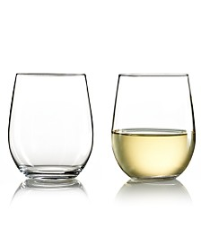 Riedel Wine Glasses, Set of 2 O Chardonnay Tumblers