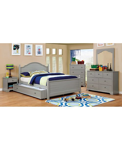 Furniture of America Poppy Transitional Full Bed