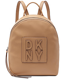 DKNY Tilly Stacked Logo Backpack, Created for Macy's