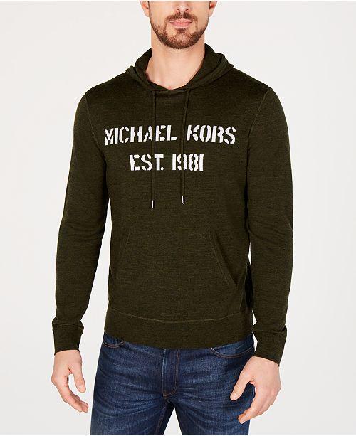 38bb6a55423 ... Michael Kors Men s Merino Wool Hoodie