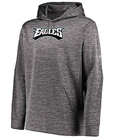 Majestic Men's Philadelphia Eagles Ultra Streak Fleece Hood