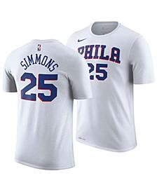 Men's Ben Simmons Philadelphia 76ers Association Player T-Shirt