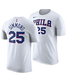 Nike Men's Ben Simmons Philadelphia 76ers Association Player T-Shirt