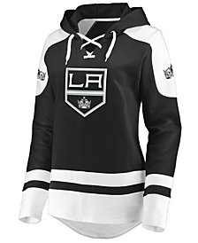 Majestic Women's Los Angeles Kings Centre Lace up Crew Sweatshirt