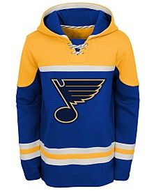 Outerstuff St. Louis Blues Asset Hoodie, Big Boys (8-20)