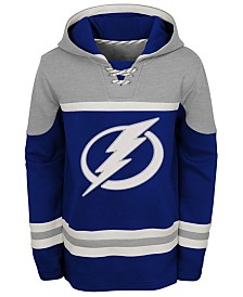Outerstuff Tampa Bay Lightning Asset Hoodie, Big Boys (8-20)