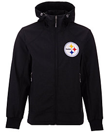 G-III Sports Men's Pittsburgh Steelers First Down Soft Shell Jacket
