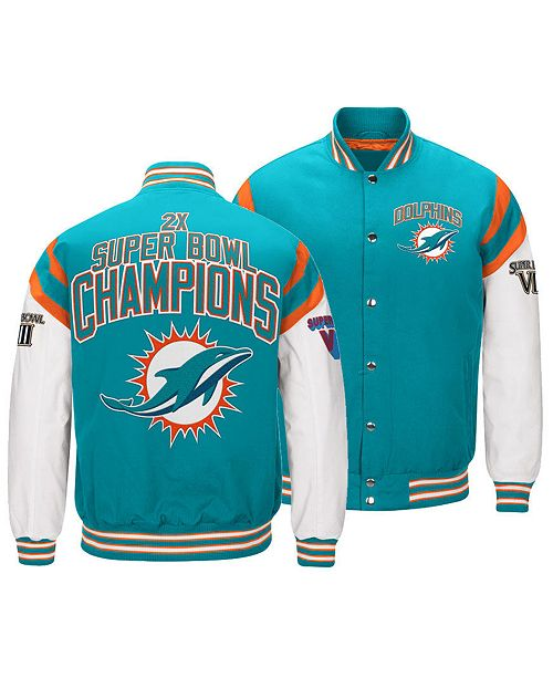 promo code f8a97 1f384 Authentic NFL Apparel Men's Miami Dolphins Home Team Varsity ...