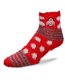 For Bare Feet Ohio State Buckeyes Homegater Sleep Soft Socks