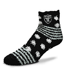 For Bare Feet Oakland Raiders Homegater Sleep Soft Socks