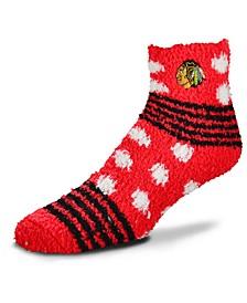Chicago Blackhawks Homegater Sleep Soft Socks