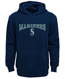 Outerstuff Seattle Mariners Fleece Hoodie, Big Boys (8-20)