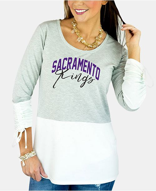 Gameday Couture Women's Sacramento Kings Embellished Tunic Top