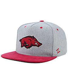 Zephyr Arkansas Razorbacks Foundation Snapback Cap