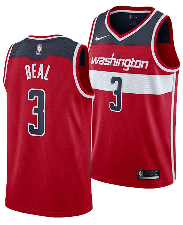 Nike Bradley Beal Washington Wizards Icon Swingman Jersey, Big Boys (8-20)