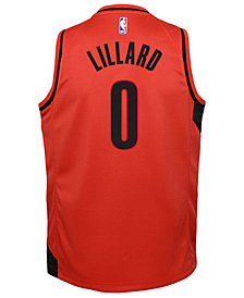 Nike Damian Lillard Portland Trail Blazers Icon Replica Jersey, Little Boys (4-7)