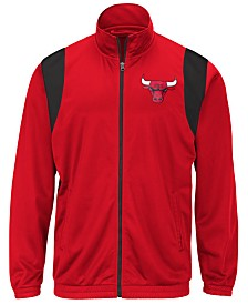 G-III Sports Men's Chicago Bulls Clutch Time Track Jacket