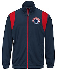 G-III Sports Men's Washington Wizards Clutch Time Track Jacket