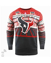 626080acdde Forever Collectibles Men s Houston Texans Bluetooth Sweater