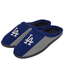 Forever Collectibles Los Angeles Dodgers Knit Cup Sole Slippers