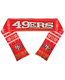 Forever Collectibles San Francisco 49ers Light Up Scarf