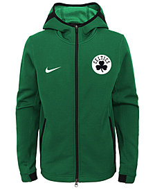 Nike Boston Celtics Showtime Hooded Jacket, Big Boys (8-20)