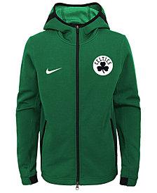 Nike Boston Celtics Showtime Hooded Jacket, Big Boys (8-20)