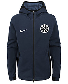 Nike New Orleans Pelicans Showtime Hooded Jacket, Big Boys (8-20)