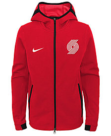 Nike Portland Trail Blazers Showtime Hooded Jacket, Big Boys (8-20)