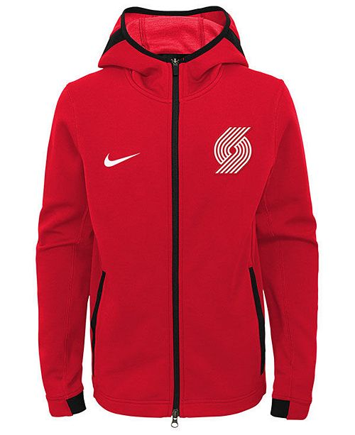 Hooded 20 Boys Big Trail Jacket Blazers Showtime Nike 8 Portland w6z0I