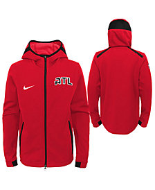 Nike Atlanta Hawks Showtime Hooded Jacket, Big Boys (8-20)